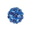 Capri Blue kristály, 4,5mm-es