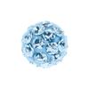 Világoskék kristály, 4,5mm-es