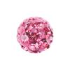 Rózsaszín kristály, 4,5mm-es